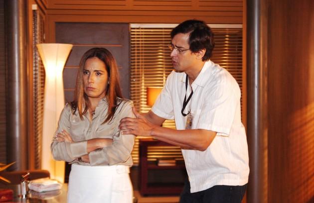 A atriz atuou também na novela das 21h 'Belíssima' (Foto: João Miguel Júnior/TV Globo)