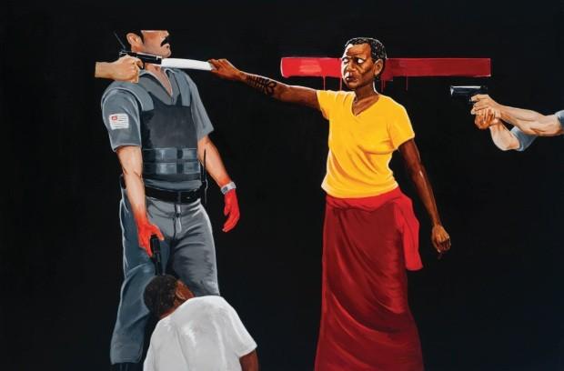 Mostra de arte em São Paulo denuncia as raízes do racismo sob olhar negro (Foto: Divulgação)
