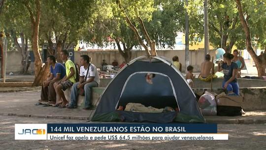Em 10 meses, mais de 80 venezuelanos fizeram solicitação de refúgio no Acre