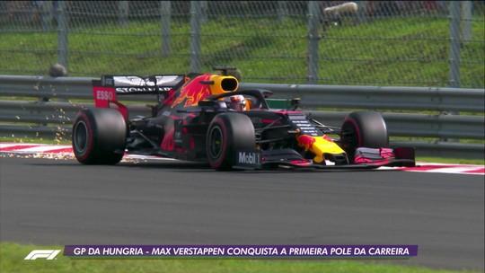 Max Verstappen conquista a pole do GP da Hungria, a primeira de sua carreira