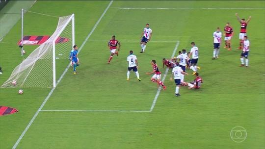 Veja lances e gols da vitória do Flamengo na Sul-Americana