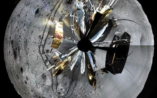 Missão espacial chinesa divulga fotos incríveis do lado oculto da Lua