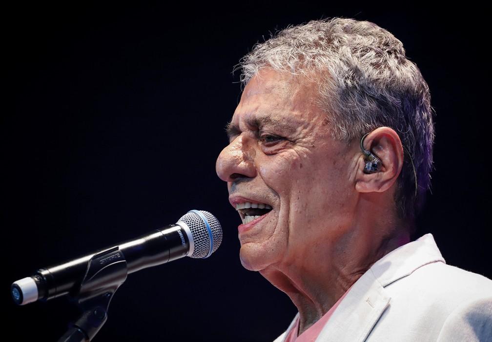 Chico Buarque — Foto: Ricardo Nunes / Divulgação Vivo Rio