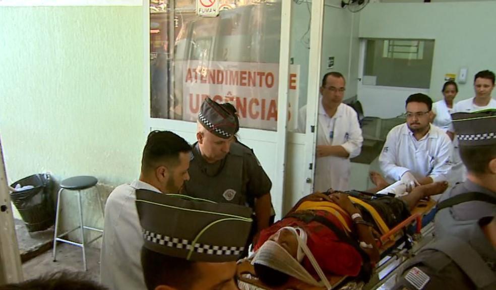 Suspeito de matar menina de 10 anos foi preso em Ribeirão Preto, SP — Foto: Paulo Souza/EPTV