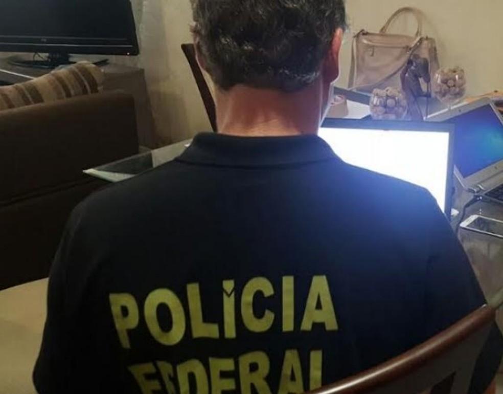 Polícia Federal identificou fraudes em empréstimos da Caixa superiores a R$ 3 milhões.  (Foto: PF/Divulgação)