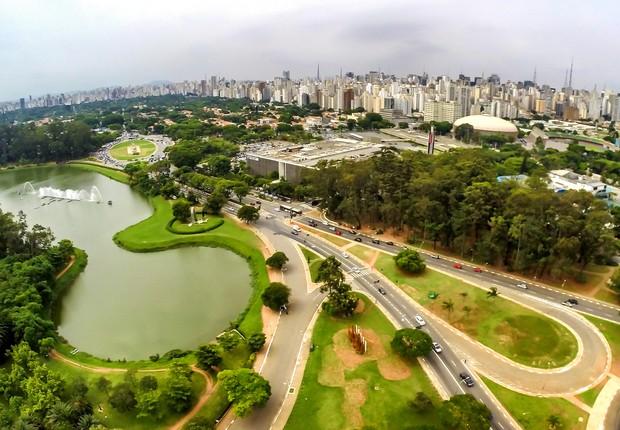 O Parque Ibirapuera completa 61 anos em 21 de agosto de 2015. O Ibirapuera foi eleito entre os melhores parques do mundo (Foto: Rafael Neddermeyer/Fotos Públicas)