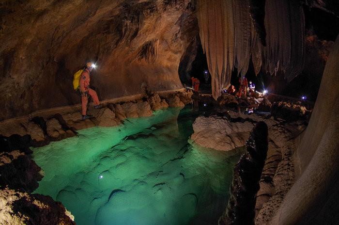 Caverna em Sardenha, na Itália (Foto: ESA–V. Crobu)