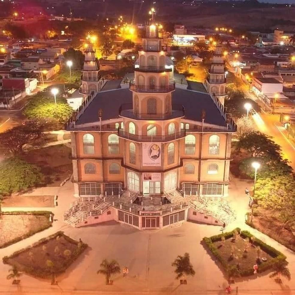 Santuário Arquidiocesano Menino Jesus, em Brazlândia, no DF — Foto: Divulgação