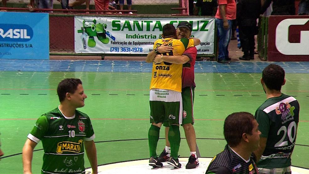 Galego esteve em todas as finais de Copa TV Sergipe (Foto: Reprodução TV Sergipe)