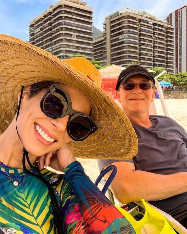 Ana Furtado e Boninho (Foto: Reprodução / Instagram)