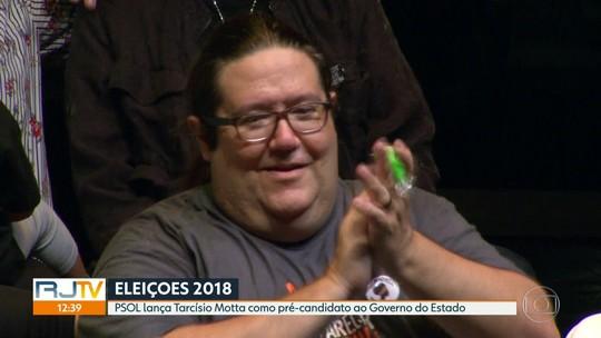 Tarcísio Motta lança pré-candidatura ao Governo do RJ pelo PSOL