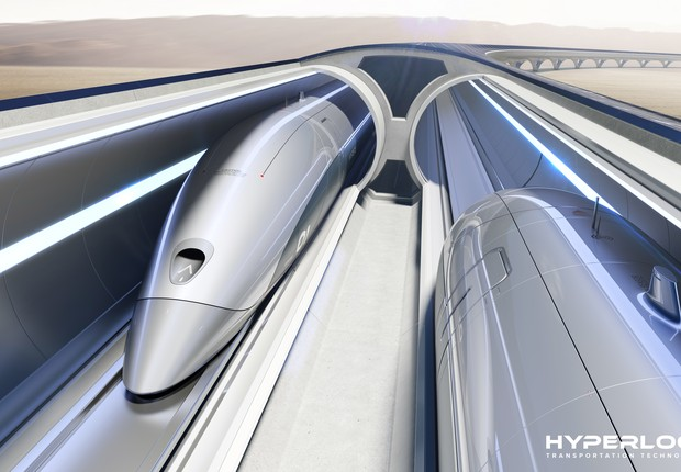 Hyperloop Transportation Technologies (Foto: Divulgação Hyperloop Transportation Technologies)