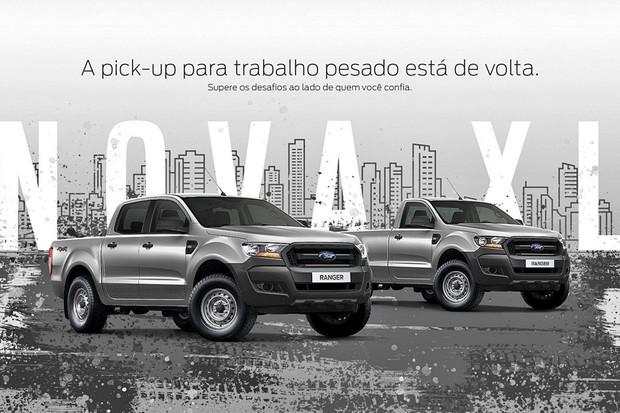 Ford Ranger XL 2019 (Foto: Divulgação)