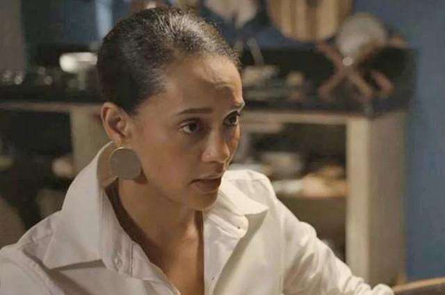 Taís Araujo, a Vitória de 'Amor de mãe' (Foto: TV Globo)