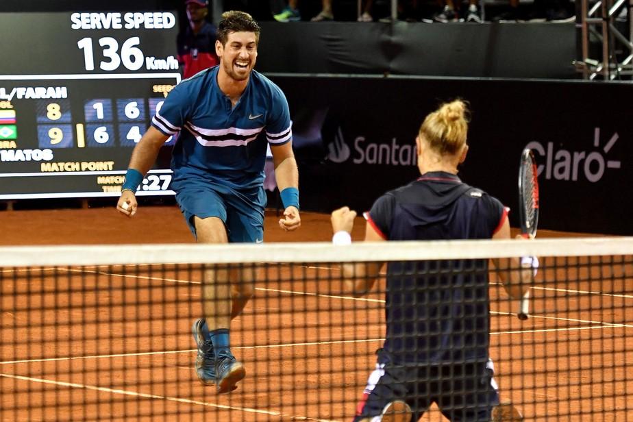 Orlando Luz e Rafael Matos surpreendem e vencem líderes do ranking na estreia do Rio Open