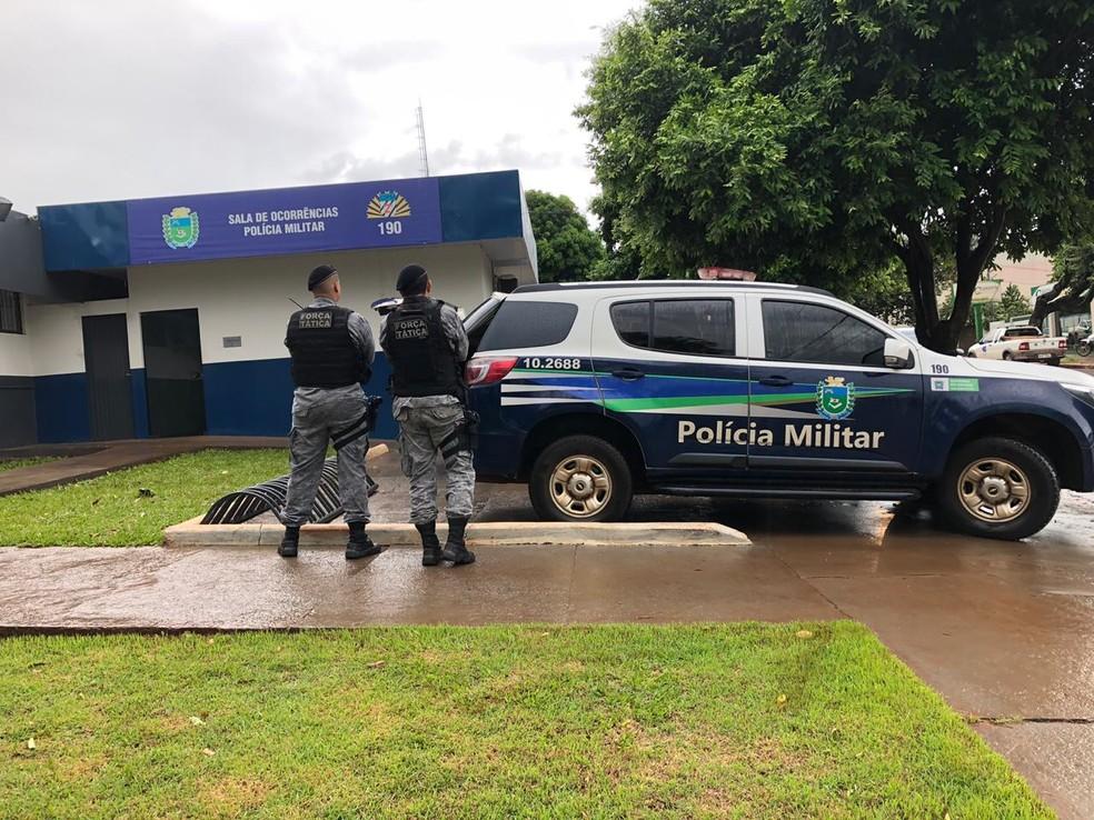 Polícia deflagrou ação em MS contra o crime organizado — Foto: Polícia Militar/Divulgação