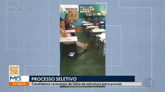 Candidatos relatam problemas em processo seletivo de Uberlândia