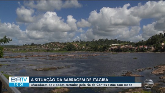 Autoridades garantem que barragem de Itagibá não tem risco de rompimento
