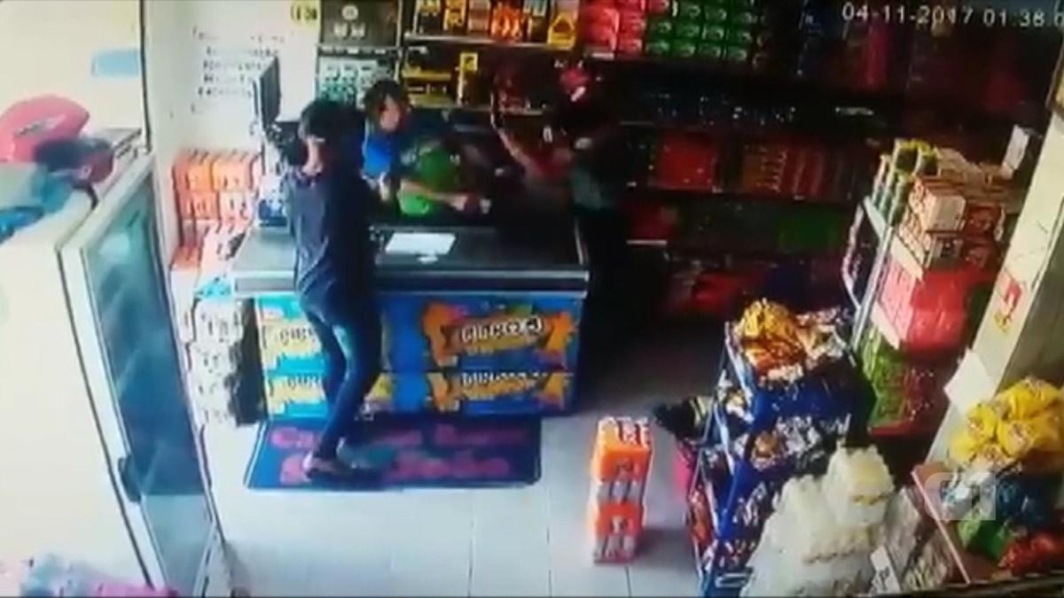 Comerciante reage a assalto e é baleado na cabeça em Mamanguape, PB; vídeo