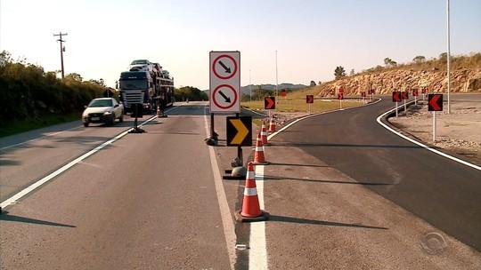 Mais 12 quilômetros de pista duplicada na BR-116 são liberados em São Lourenço do Sul