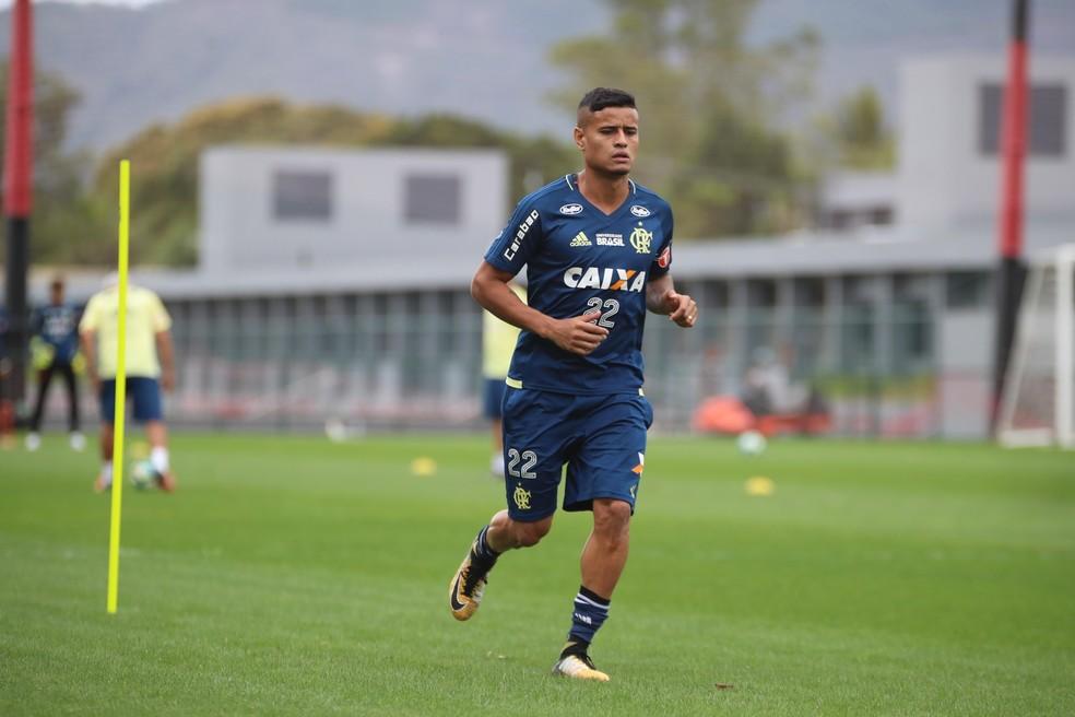 Everton não enfrenta o Junior Barranquilla (Foto: Gilvan de Souza / Flamengo)
