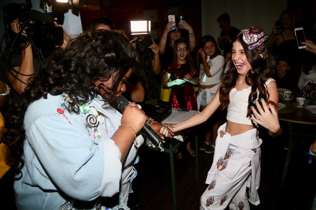 Jojo Todynho anima festa de Maria Faro (Foto: Manuela Scarpa/Brazil News)
