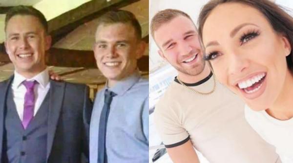 Os irmãos Dylan e Darryl Smith e a ex-Miss Grã Bretanha Sophie Gradon  (Foto: Instagram)