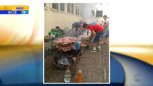 MP diz que investigará imagens de churrasco em presídio de Santa Cruz do Sul