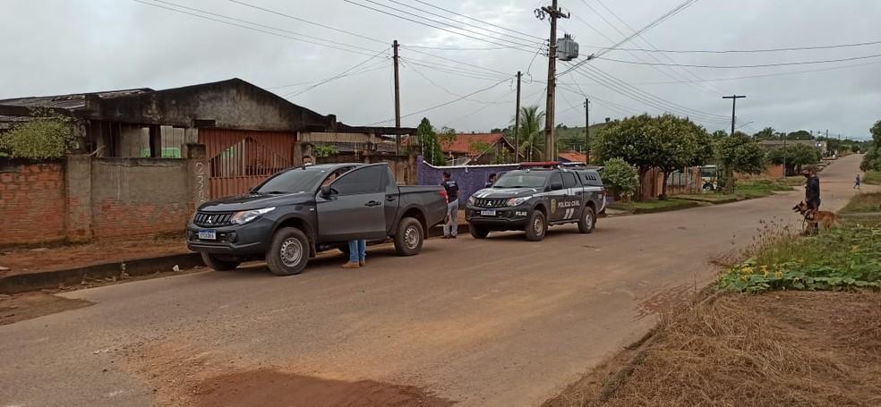 Polícia Civil cumpre mandados de prisão contra suspeitos de homicídios em RO — Foto: William Andrade/Rede Amazônica