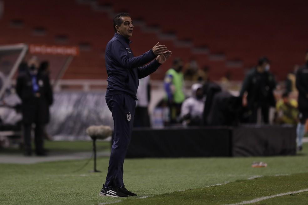 Renato Paiva, técnico do Independiente del Valle — Foto: Staff Images / CONMEBOL