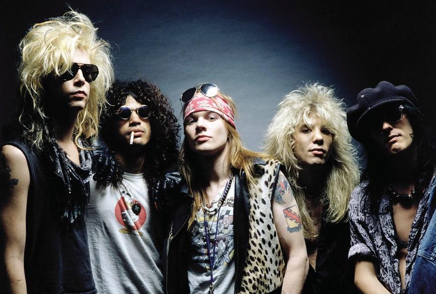 Guns N' Roses (Foto: Reprodução)