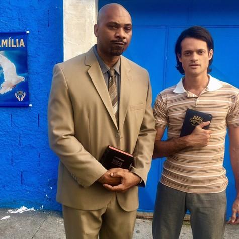 MV Bill e Álamo Facó em 'Me chama de Bruna', da Fox (Foto: Arquivo pessoal)