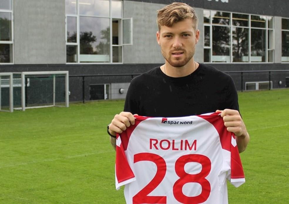 Yann Rolim Aalborg (Foto: Reprodução/Aalborg)