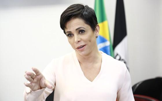 A deputada federal Cristiane Brasil (Foto: PTB na Câmara/Flickr)