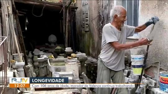 Morador de Valença de 106 anos tem vida ativa e conta segredo da longevidade