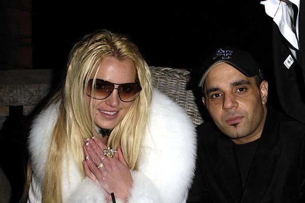 Britney Spears e Sam Lufti em 2007 (Foto: Getty Images)