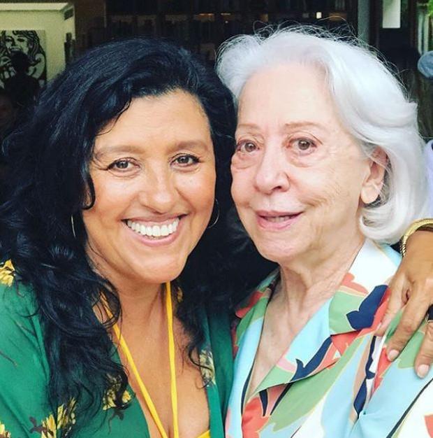 Regina Casé e Fernanda Montenegro (Foto: Reprodução/Instagram)