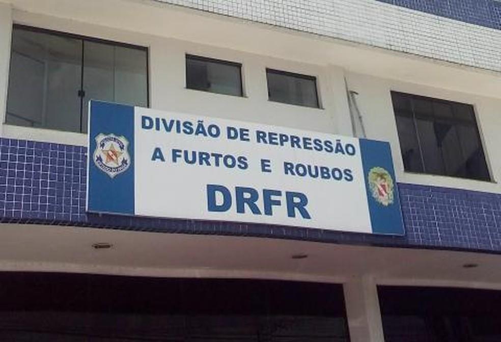-  Fachada da Divisão de Repressão a Furtos e Roubos, em Belém.  Foto: Reprodução / Polícia CIvil
