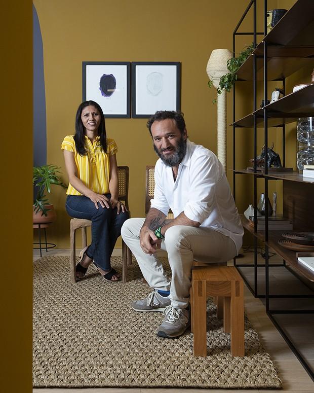 Artesã de Várzea Queimada apresenta linha de luminárias no Casa Vogue Experience (Foto: André Klotz )