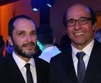 José Luiz Villamarim e George Moura | Paulo Belote/TV Globo