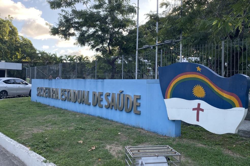 Secretaria de Saúde de Pernambuco fica no bairro do Bongi, na Zona Oeste do Recife — Foto: Pedro Alves/G1