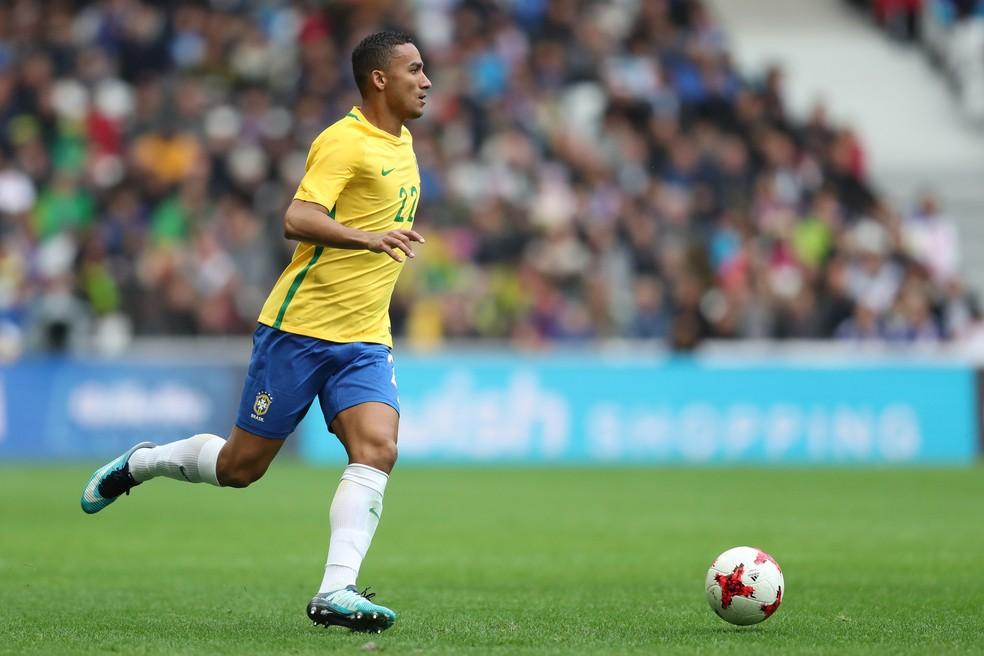 Danilo Brasil x Japão (Foto: Lucas Figueiredo/CBF)