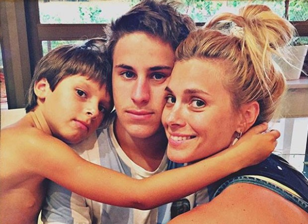 José, Davi e Carolina Dieckmann (Foto: Reprodução/Instagram')