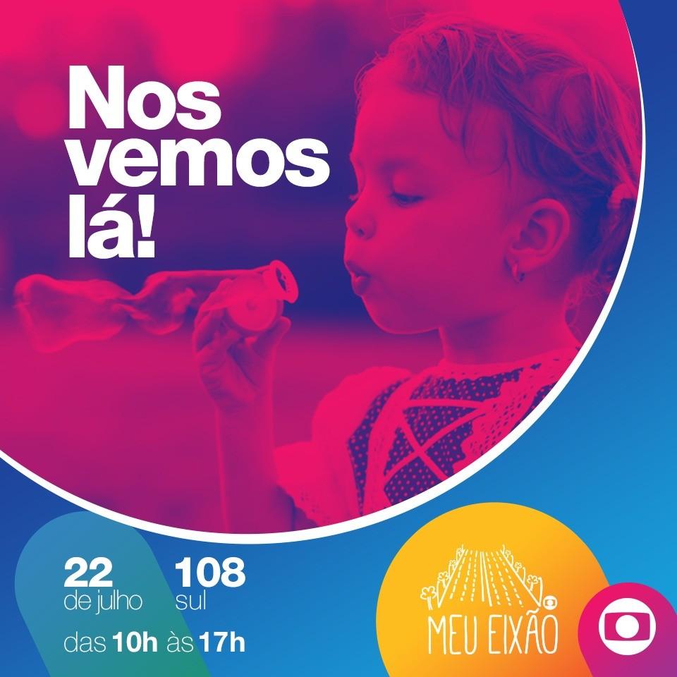 Evento 'Meu Eixão' leva oficinas, música e gastronomia à Asa Sul neste domingo