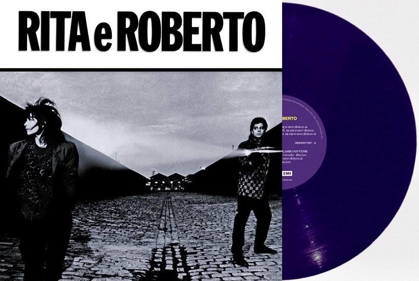 Rita Lee e Roberto de Carvalho relançam álbum 'deprê' de 1985 em LP com vinil roxo