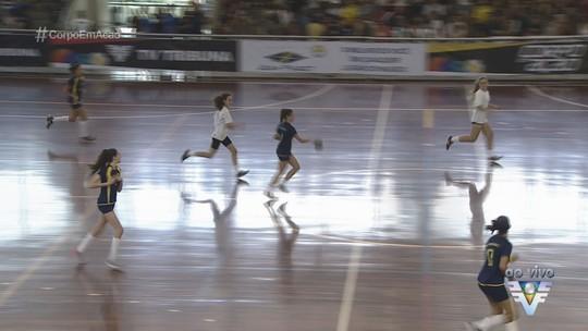 Escolas iniciam disputa da 14ª edição da Copa TV Tribuna de Handebol Escolar