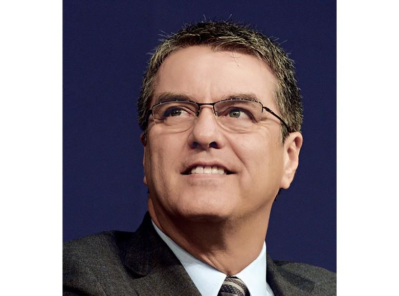 Roberto Azevêdo, diretor-geral da Organização Mundial do Comércio (OMC) (Foto: ©Eric Piermont/AFP)