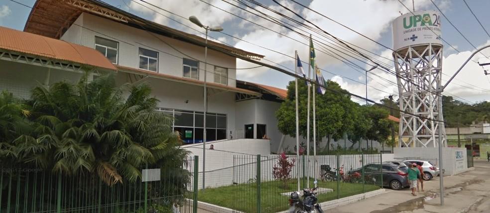 UPA de Engenho Velho fica em Jaboatão dos Guararapes, no Grande Recife (Foto: Reprodução/Google Street View)