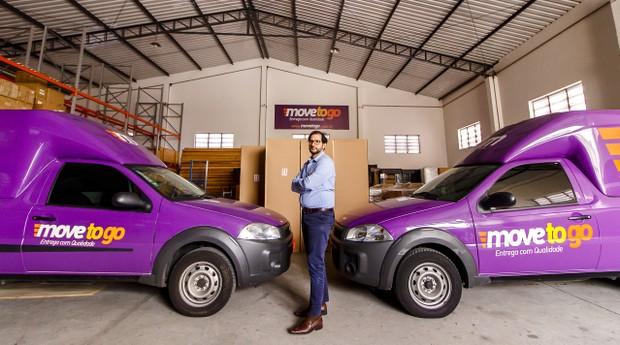 Alvadjian começou a empreender no setor de logística em 2011. (Foto: Divulgação)