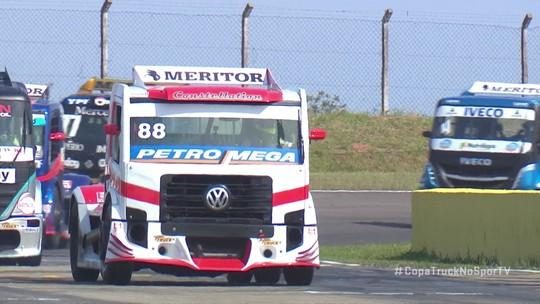 Beto Monteiro vence a corrida 1 da etapa de Santa Cruz do Sul da Copa Truck